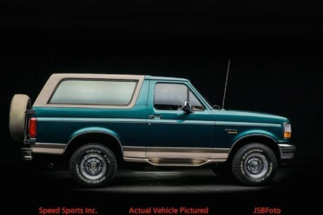 1996 ford bronco eddie bauer for sale in portland oregon classified. Cars Review. Best American Auto & Cars Review