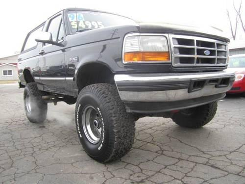 1996 ford bronco lifted 4wd eddie bauer nice big ride for sale in howell michigan. Black Bedroom Furniture Sets. Home Design Ideas