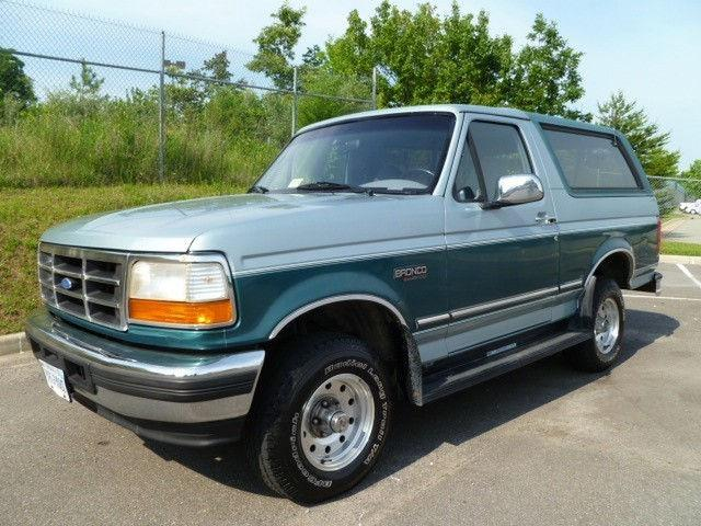 1996 ford bronco xl for sale in midlothian virginia classified. Cars Review. Best American Auto & Cars Review