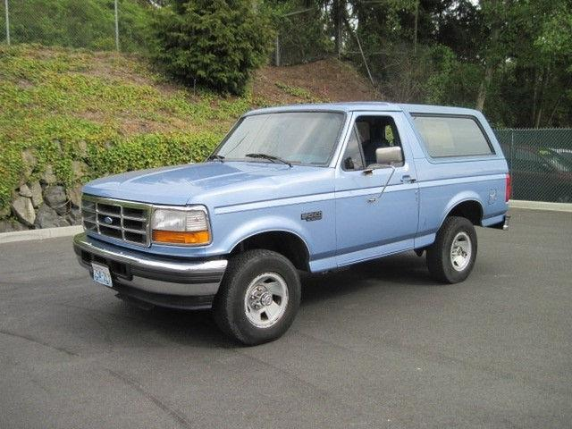 1996 ford bronco xl for sale in seattle washington classified. Cars Review. Best American Auto & Cars Review