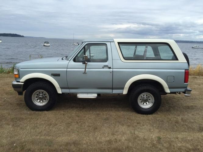 1996 ford bronco xl for sale in grand coulee washington classified. Black Bedroom Furniture Sets. Home Design Ideas