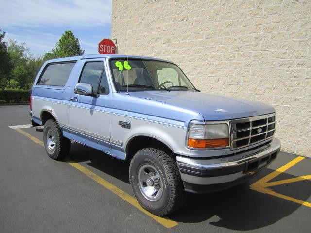 1996 ford bronco xlt for sale in sellersville pennsylvania classified. Cars Review. Best American Auto & Cars Review