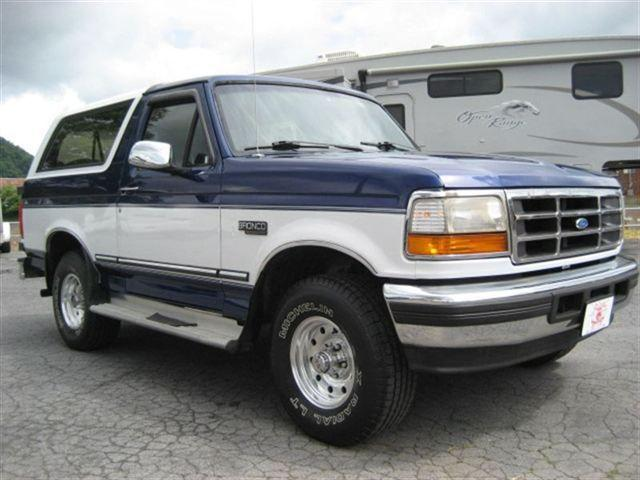 1996 ford bronco xlt for sale in johnstown pennsylvania classified. Cars Review. Best American Auto & Cars Review