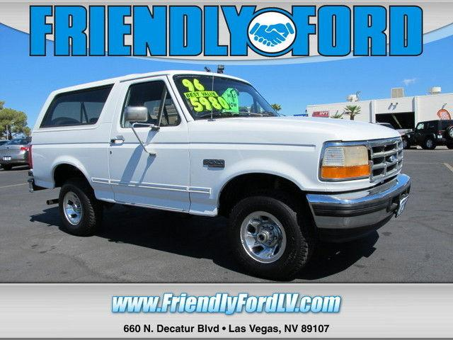 1996 ford bronco xlt for sale in las vegas nevada classified. Cars Review. Best American Auto & Cars Review