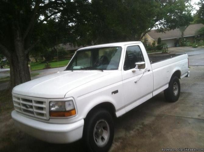Buy Here Pay Here Orlando >> 1996 FORD F150 PICKUP TRUCK 2WD 6 CYL AUTOMATIC DUAL TANKS ...