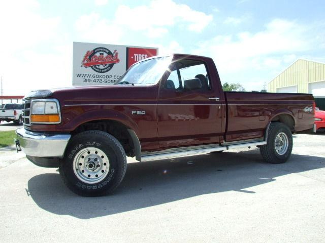 1996 ford f150 xl for sale in vinton iowa classified. Black Bedroom Furniture Sets. Home Design Ideas