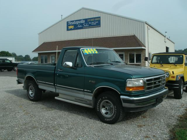 1996 ford f150 xl for sale in teutopolis illinois classified. Black Bedroom Furniture Sets. Home Design Ideas