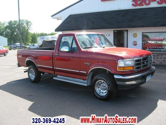 1996 ford f150 xlt for sale in pease minnesota classified. Black Bedroom Furniture Sets. Home Design Ideas