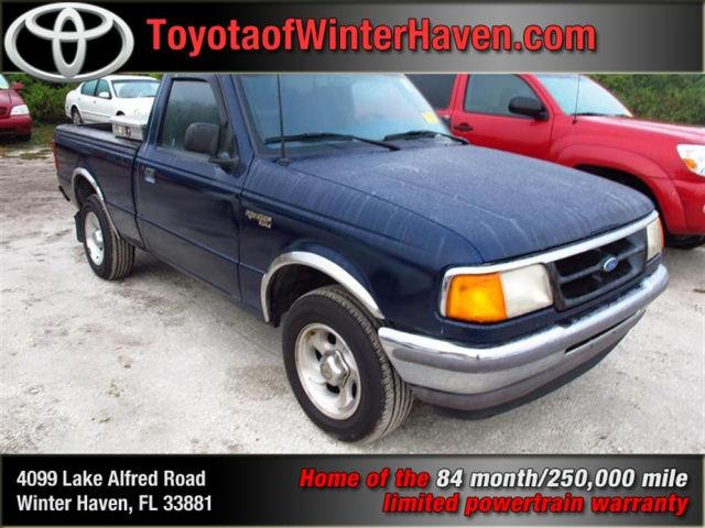 1996 ford ranger xlt for sale in winter haven florida classified. Black Bedroom Furniture Sets. Home Design Ideas