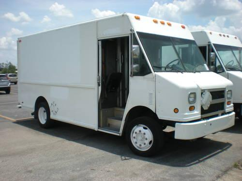 1996 Freightliner Grumman Step Van Rear Rolling Door With