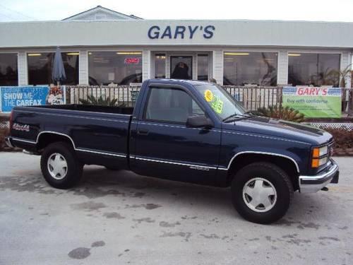 1996 gmc sierra 1500 pickup truck sl for sale in north topsail beach north carolina classified. Black Bedroom Furniture Sets. Home Design Ideas