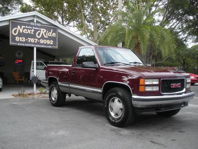1996 gmc sierra 1500 sl for sale in tampa florida. Black Bedroom Furniture Sets. Home Design Ideas