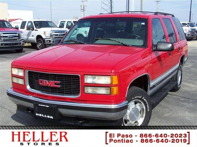 1996 Gmc Yukon 1996 Gmc Yukon 1500 4dr Car For Sale In