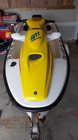 1996 GTI Sea doo Jet ski, 3 seat w trailer