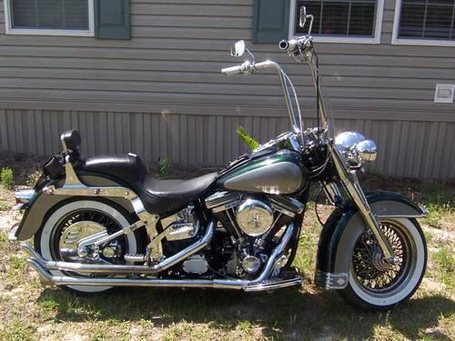1996 harley davidson heritage softail classic for sale in fruitland park florida classified. Black Bedroom Furniture Sets. Home Design Ideas