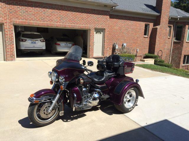 1996 harley flhtcu trike for sale in howell michigan. Black Bedroom Furniture Sets. Home Design Ideas