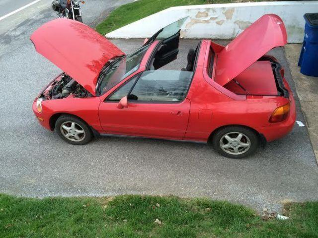 1996 honda civic del sol si red 5spd for sale in. Black Bedroom Furniture Sets. Home Design Ideas