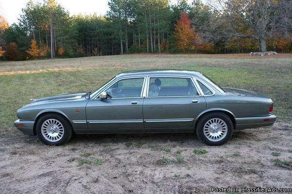 1996 jaguar xj6 vanden plas for sale in ludington. Black Bedroom Furniture Sets. Home Design Ideas