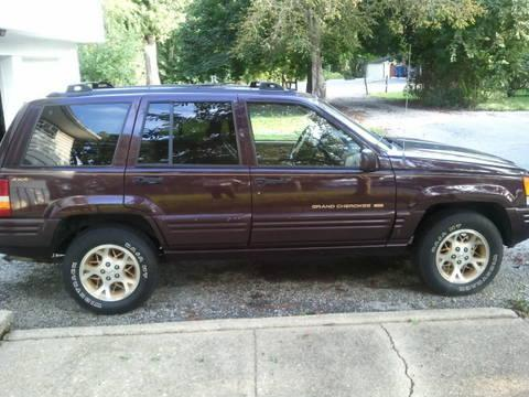 1996 jeep grand cherokee limited 4x4 v8 5 2 for sale in pilesgrove new jersey classified. Black Bedroom Furniture Sets. Home Design Ideas