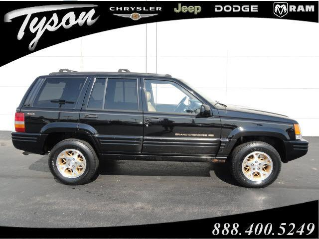 1996 jeep grand cherokee limited for sale in shorewood illinois classified. Black Bedroom Furniture Sets. Home Design Ideas