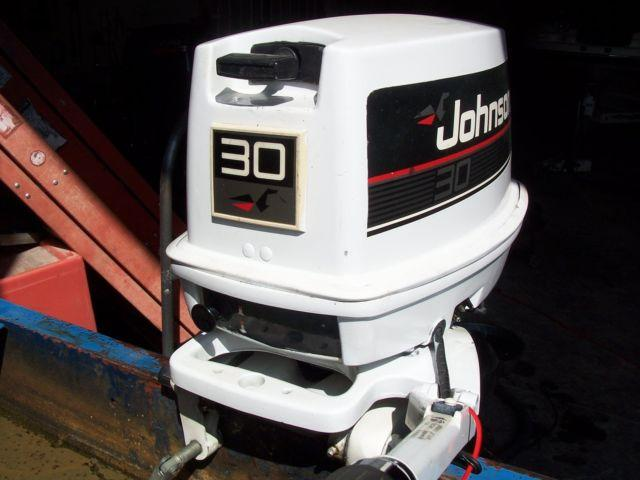 1996 johnson 30hp manual start short shaft for sale in for Outboard motors for sale in wisconsin