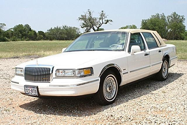 1996 Lincoln Town Car Executive For Sale In Spicewood Texas