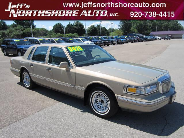 1996 Lincoln Town Car Executive For Sale In Menasha Wisconsin