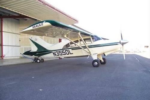 1996 Maule M7-235B Tail Dragger Airplane