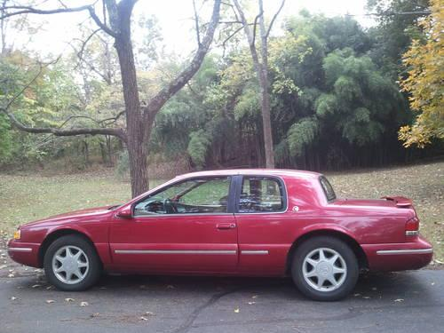 1996 mercury cougar xr7 for sale in boskydell illinois. Black Bedroom Furniture Sets. Home Design Ideas