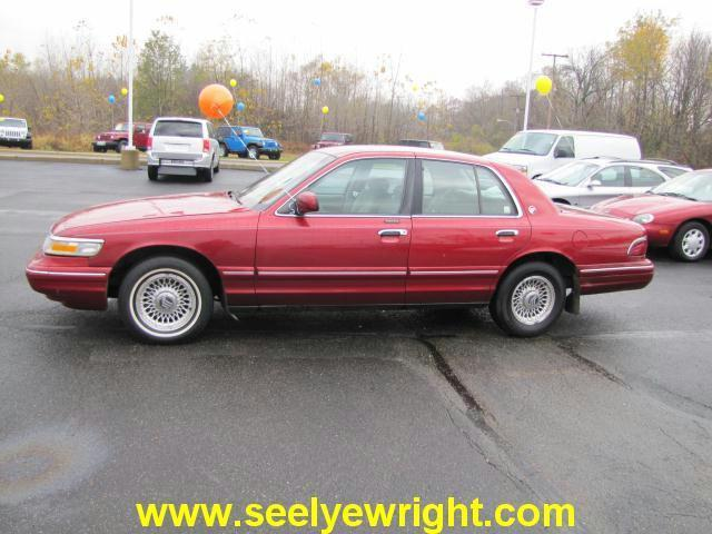 1996 mercury grand marquis ls for sale in paw paw. Black Bedroom Furniture Sets. Home Design Ideas