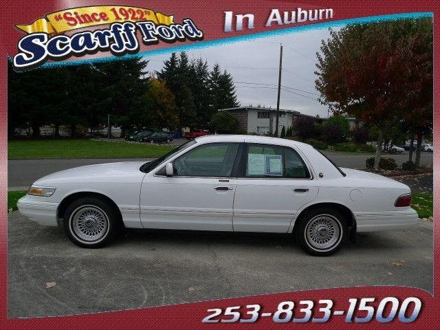 1996 mercury grand marquis ls for sale in auburn. Black Bedroom Furniture Sets. Home Design Ideas