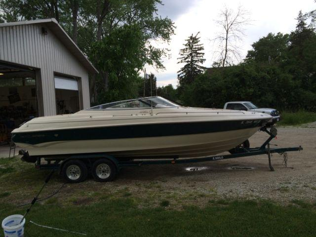 1996 Monterey Boat 236 Open Bow $15,000 with Trailer -