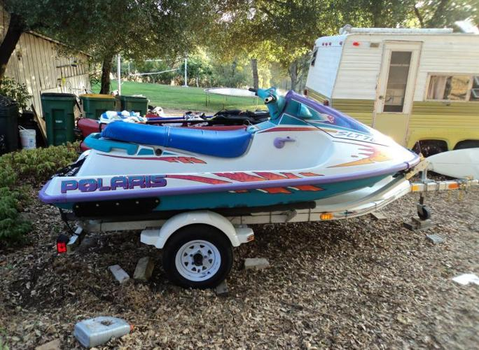 1996 Polaris 780 SLT 2 or 3-seater PWC w/ double