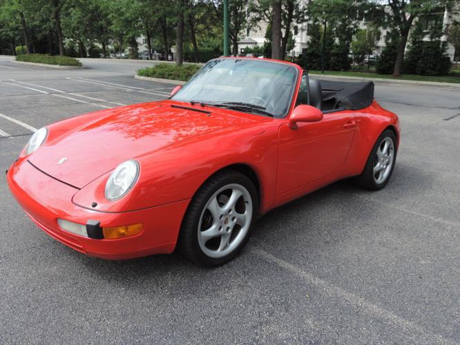 1996 Porsche 911 6-Speed Convertible