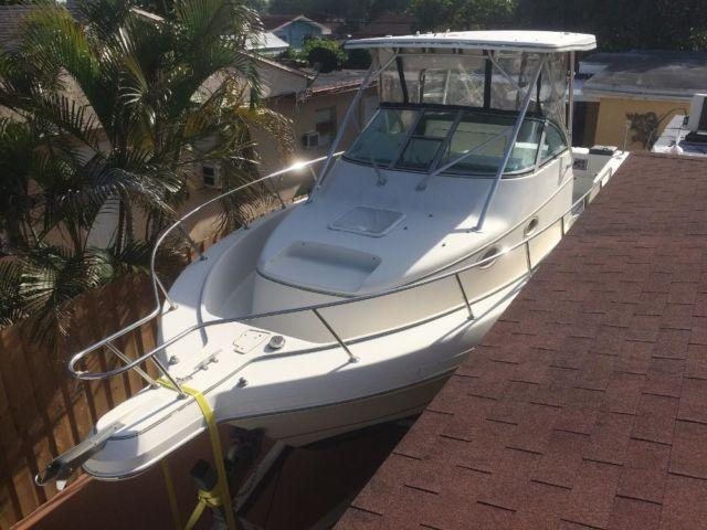 1996 Pro Line 2950 Mid Cabin Express 30 Ft Fishing Yacht