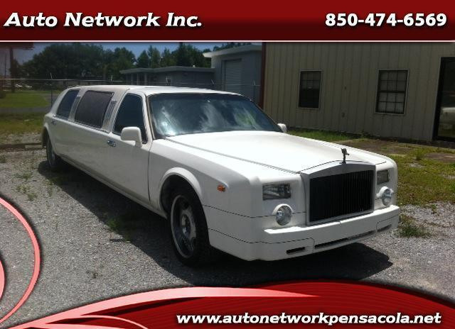 1996 rolls royce phantom limo see it today great luxury pensacola for sale in pensacola. Black Bedroom Furniture Sets. Home Design Ideas