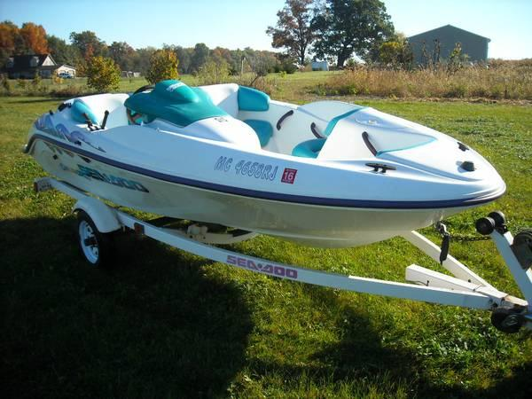 1996 sea doo challenger 110 hp 14 5 ft for sale in chelsea michigan classified. Black Bedroom Furniture Sets. Home Design Ideas