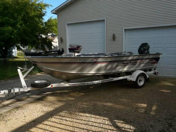 1996 Sea Nymph Fm 164 For Sale In Tomah Wisconsin