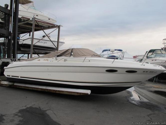 1996 Sea Ray 280 Sun Sport Ss 28 Cruiser Boat Low Reserve Clean Title Project 96 For Sale In