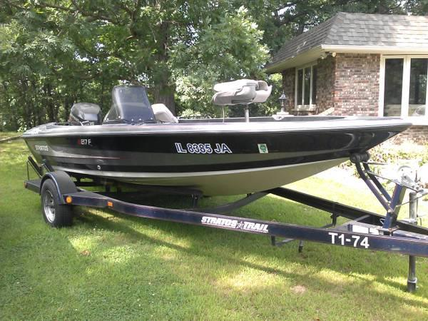 1996 stratos 217cf walleye boat for sale in dubuque for Walleye fishing boats for sale