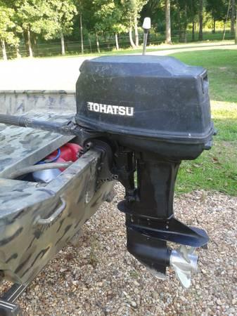 1996 tohatsu m40c 1996 boat in amory ms 4328839107 for Tohatsu outboard motor financing