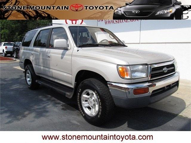 1996 toyota 4runner sr5 for sale in stone mountain. Black Bedroom Furniture Sets. Home Design Ideas