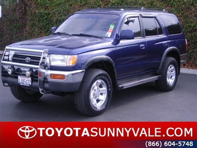 1996 toyota 4runner sr5 for sale in sunnyvale california. Black Bedroom Furniture Sets. Home Design Ideas