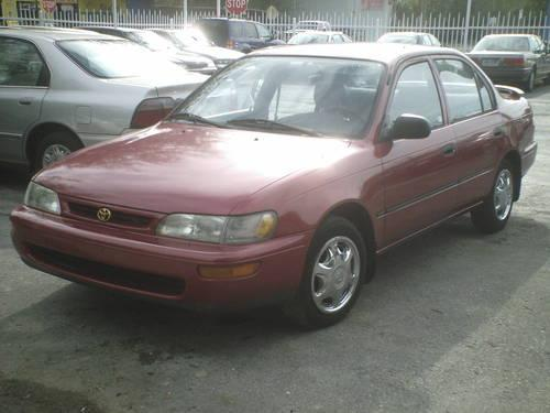 1996 toyota corolla dx nice car nice price for sale in tampa florida classified. Black Bedroom Furniture Sets. Home Design Ideas