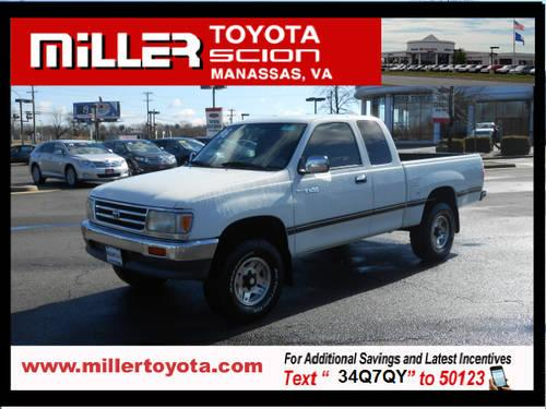 1996 Toyota T100 Extended Cab Pickup 4x4 Sr5 For Sale In