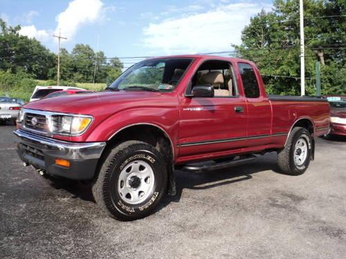 1996 toyota tacoma extended cab pickup short bed lx 4x4 for sale in bermudian pennsylvania. Black Bedroom Furniture Sets. Home Design Ideas