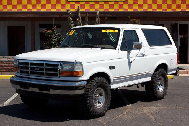 1996 ford bronco for sale in tucson arizona classified. Cars Review. Best American Auto & Cars Review