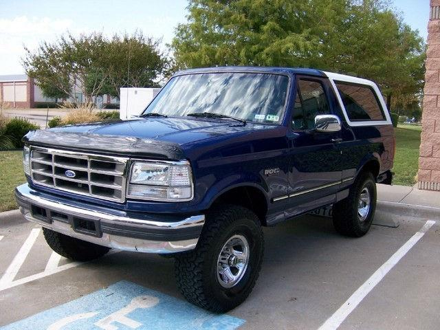 1996 ford bronco xlt for sale in carrollton texas classified. Cars Review. Best American Auto & Cars Review