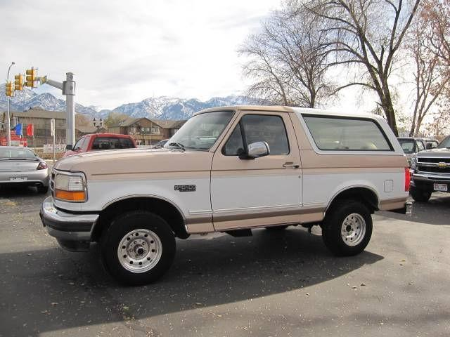 1996 ford bronco xlt for sale in midvale utah classified. Cars Review. Best American Auto & Cars Review