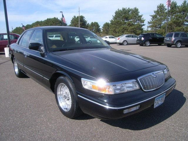 1996 mercury grand marquis ls for sale in isanti. Black Bedroom Furniture Sets. Home Design Ideas